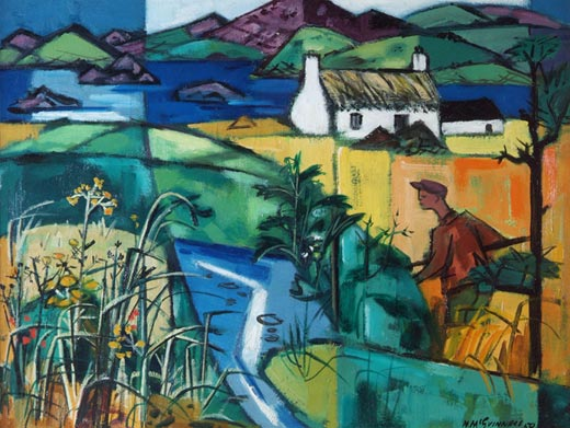 Nora McGuinness: From the River to the Sea, 1959; Great Southern Collection | The Way Home – Mid Twentieth Century Irish Works |  to 14 October 2017 | Crawford Art Gallery