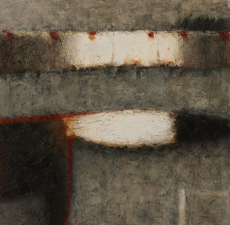 John Shinnors: Shy Fox, Sixty-Six Sheep, 2016-17, oil on panel, 28 x 29 cm   John Shinnors: New Paintings   Friday 2 June  – Saturday 24 June 2017   Taylor Galleries
