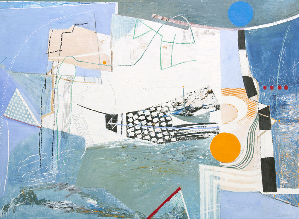 Matthew Lanyon | Philip Booth, Matthew Lanyon and Tony Lattimer: West Meets West | Saturday 3 June  – Saturday 8 July 2017 | Uillinn: West Cork Arts Centre