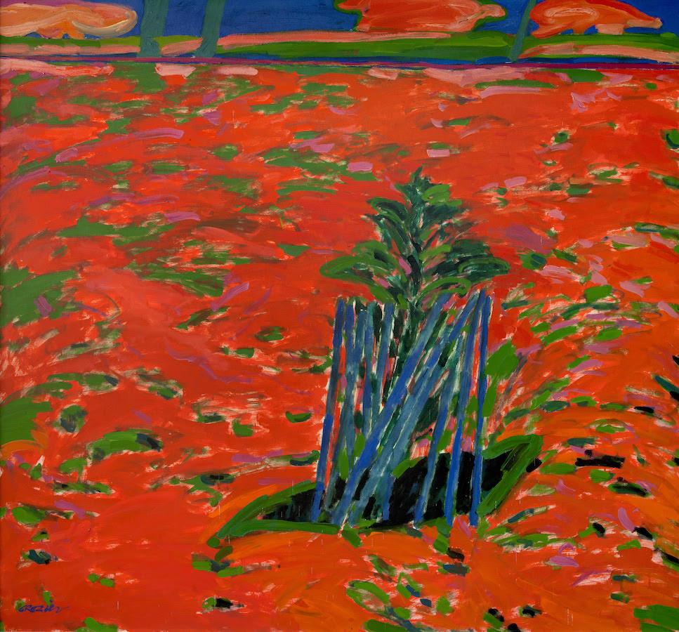 William Crozier: The Rowan Tree, oil on canvas | William Crozier: The Edge of the Landscape | Saturday 15 July  – Thursday 31 August 2017 | Uillinn: West Cork Arts Centre