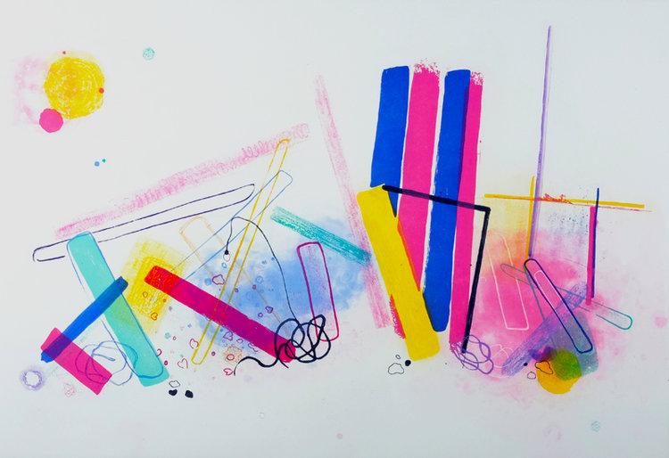 Aoife Scott, Leftovers, aquatint and carborundum | Summer Exhibition | Saturday 15 July  – Saturday 2 September 2017 | Graphic Studio Gallery