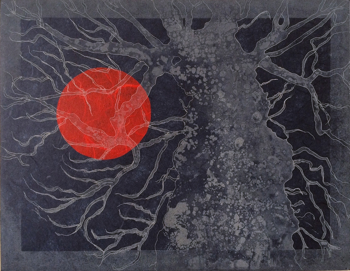Mary Grey: Owl Time, etching and aquatint | Summer Exhibition | from Saturday 15 July 2017  | Graphic Studio Gallery