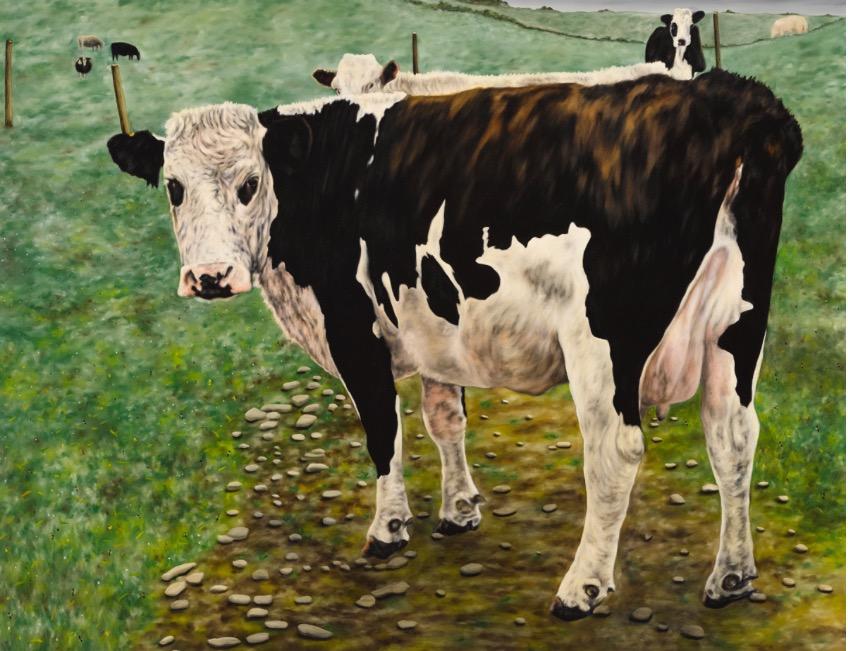 Dermot Seymour: The Road to Brexitaria,oil on canvas, 2017 | Dermot Seymour: Hidden Dips, Blind Summits – The Road To Brexitaria | Thursday 19 October  – Saturday 18 November 2017 | Kevin Kavanagh