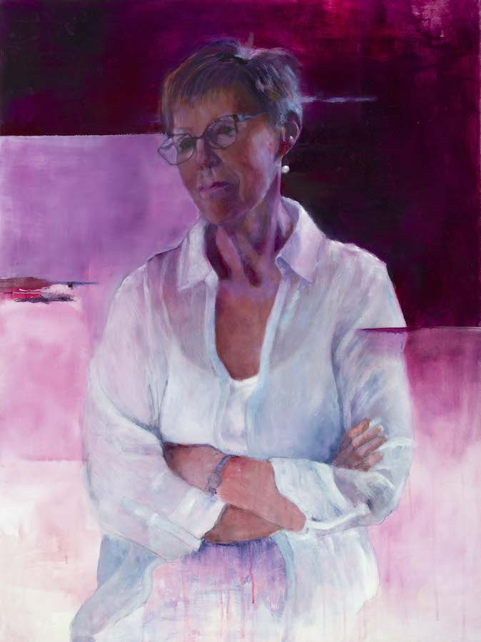 Millie Moore | Self-Reflections: 40 years of Banbridge Art Club | Saturday 9 December 2017  – Saturday 17 February 2018 | F.E. McWilliam Gallery