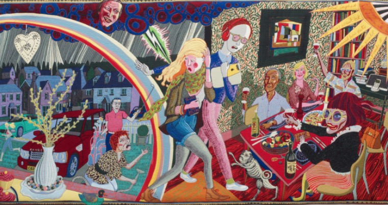 Grayson Perry: The Vanity of Small Differences | Friday 19 January  – Monday 19 March 2018 | Royal Hibernian Academy