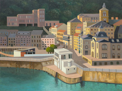 Stephen McKenna: San Sebastian, 2009, oil on canvas, 120 x 160cm | Kerlin Gallery