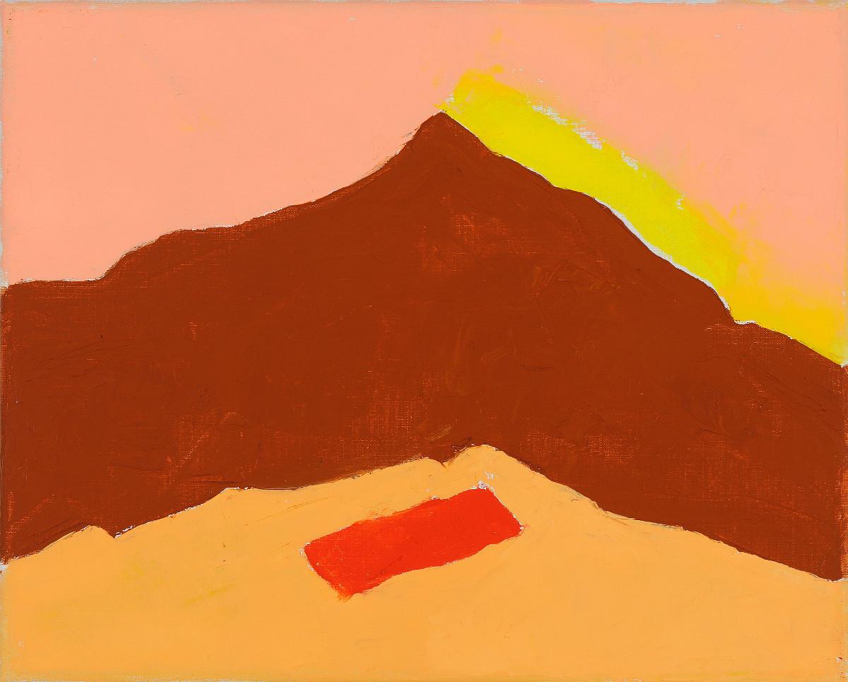 Etel Adnan:Untitled #206, 2013, oil on canvas,24 x 30 cm; courtesy the artist and Sfeir-Semler Gallery, Beirut / Hamburg   Etel Adnan   Thursday 4 June  – Sunday 13 September 2015   IMMA