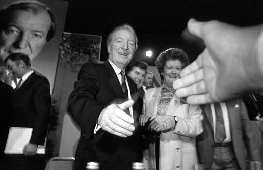 (c) Eamonn Farrell / Rollingnews.ie | Eamonn Farrell: Charles Haughey: power, politics & public image | Friday 30 October  – Sunday 22 November 2015 | Gallery of Photography