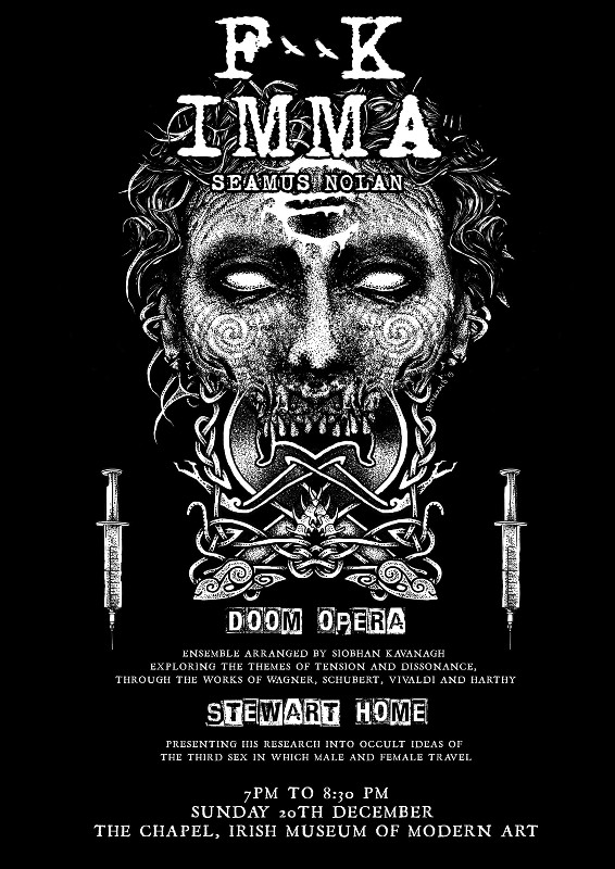 Seamus Nolan: F**K IMMA │ What We Call Love | Sunday 20 December  | IMMA