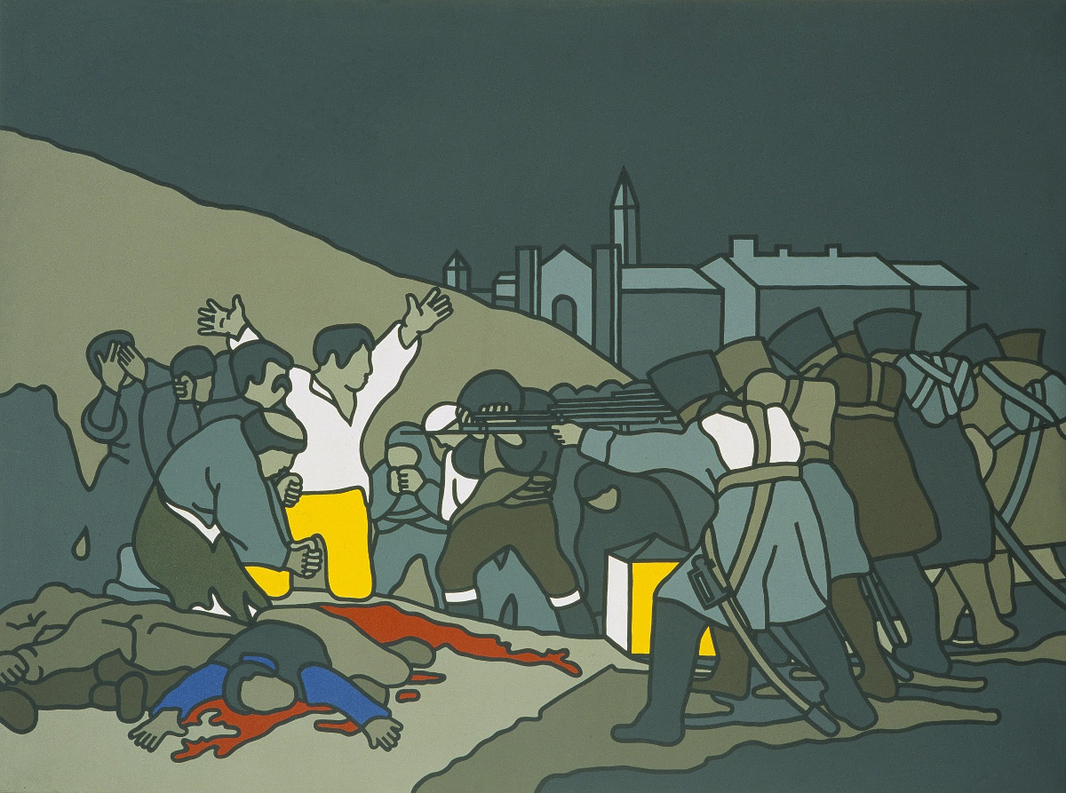 Robert Ballagh: Third of May – After Goya | The Artist as Witness in Society: Collection | Thursday 11 February  – Sunday 2 October 2016 | Dublin City Gallery The Hugh Lane