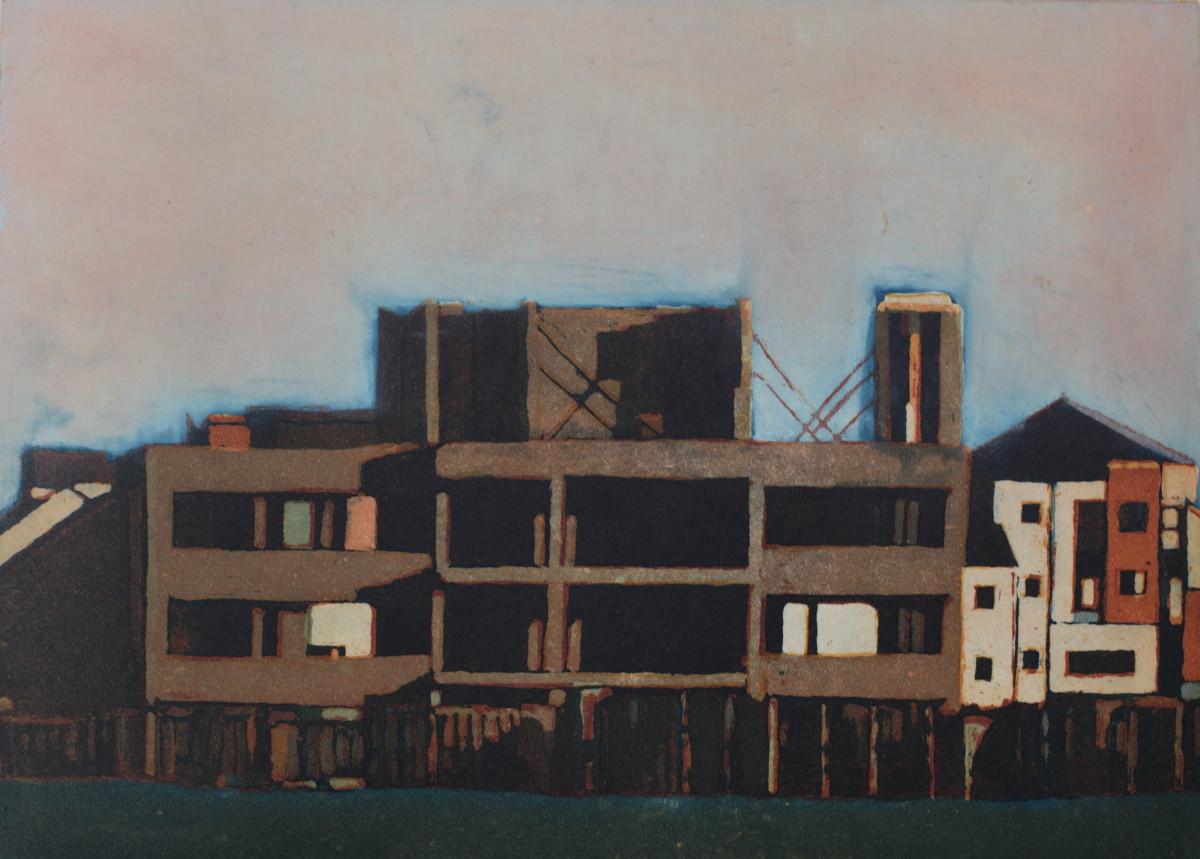 Julie Ann Haines:Coast,etching | Summer Exhibition | Saturday 9 July  – Wednesday 31 August 2016 | Graphic Studio Gallery