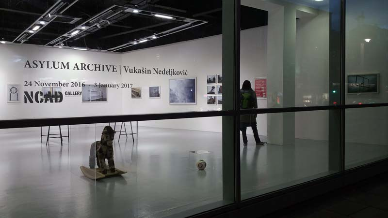 Vukašin Nedeljković: Asylum Archive | Friday 25 November 2016  – Wednesday 25 January 2017 | NCAD Gallery