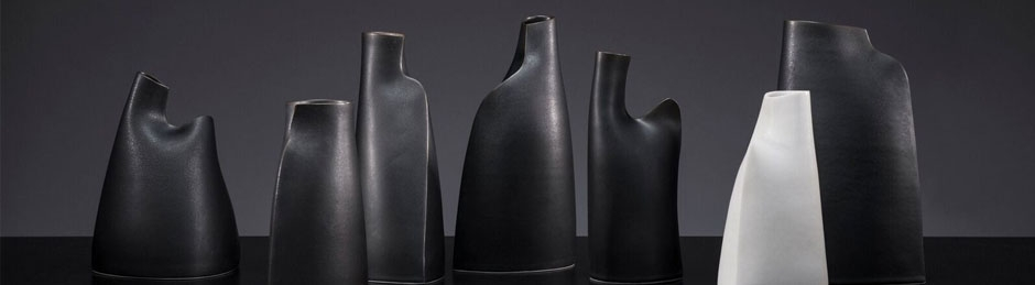 Sarah Flynn: Esker Vessel Group, 2016; photo: Glen Norwood | The Vase – Function Reviewed | Friday 20 January  – Sunday 26 February 2017 | Farmleigh Gallery