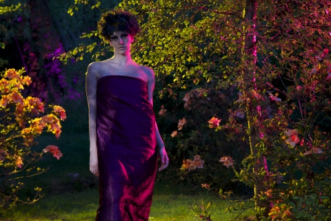 Vivienne Dick: Red Moon Rising, HDV, 2015, 15 mins. Image of Isabella Oberlander | Vivienne Dick: 93% STARDUST | Friday 16 June  – Sunday 15 October 2017 | Irish Museum of Modern Art