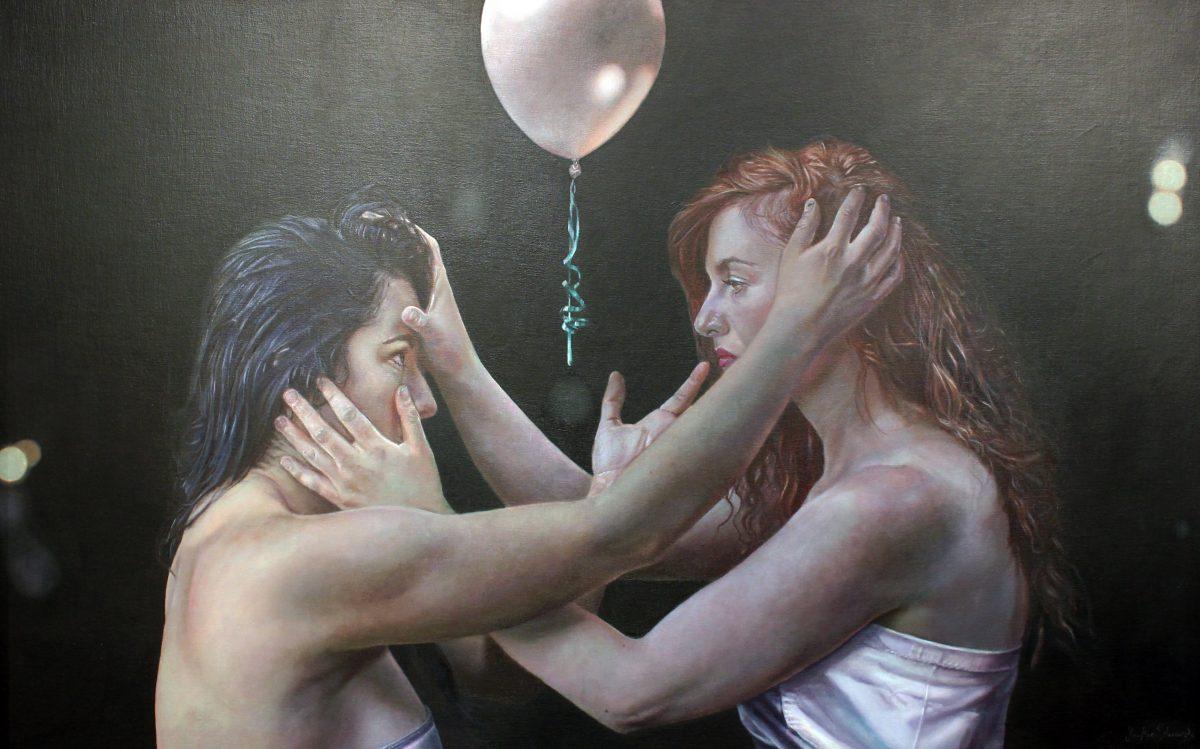 Jackie Edwards: Birthday Celebration, 107 x 69cm, oil on board   Summer Show   Saturday 17 June  – Thursday 31 August 2017   Gormley's Fine Art, Dublin