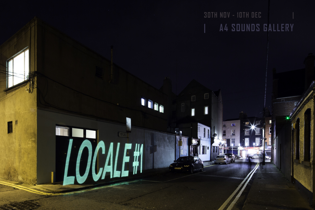 Robby Collins & Kate-Bowe O'Brien: Light Stick Project, 2017 | Locale #1: A4 Members Show 2017 | Thursday 30 November  – Sunday 10 December 2017 | A4 Sounds Gallery