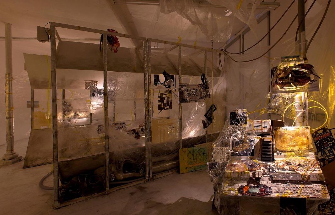 Sam Keogh: Kapton Cadaverine, 2017, mixed media, dimensions variable | Sam Keogh: Kapton Cadaverine | Saturday 27 January  – Saturday 10 March 2018 | Kerlin Gallery