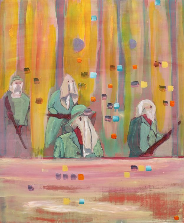 Joseph Heffernan: Midnight | Susanne Wawra and Joseph Heffernan: Borderland / Memento | Saturday 24 February  – Saturday 28 April 2018 | Garter Lane Arts Centre