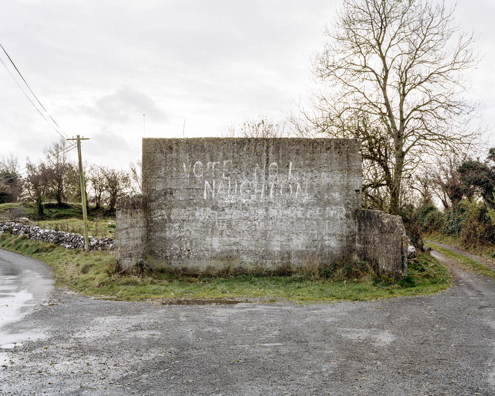 The Handball Alley, Feevagh, County Roscommon © Kenneth O'Halloran | Kenneth O'Halloran: Modern Ruins and other stories | Friday 6 April  – Sunday 20 May 2018 | Gallery of Photography