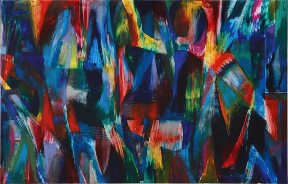 Jan Pleitner, Untitled, 2018, oil on canvas, 250 x 170 cm / 98.4 x 66.9 in | Jan Pleitner: Helios | Tuesday 20 March  – Saturday 28 April 2018 | Kerlin Gallery