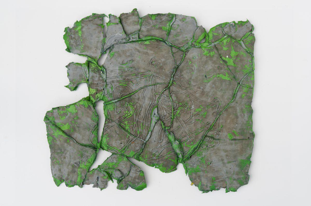 George Warren:Misprint, 2018, oil on silicon, 32 x 37 cm | George Warren:  Misprint | Thursday 3 May  – Saturday 2 June 2018 | Hillsboro Fine Art