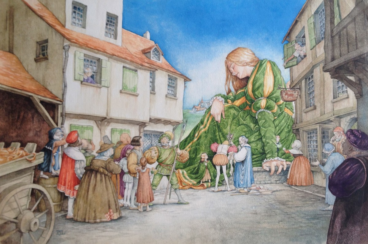 PJ Lynch: Pilgrims, Princesses and Beardy Old Men | Thursday 28 June  – Saturday 11 August 2018 | Garter Lane Arts Centre