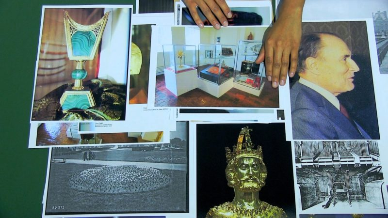 Kapwani Kiwanga:The Secretary's Suite, 2016, video still | The Landis Museum | Saturday 26 May  – Saturday 28 July 2018 | Centre for Contemporary Art (CCA)