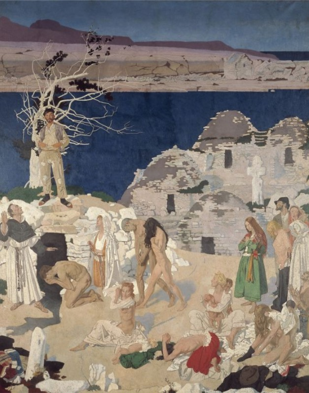 William Orpen (1878-1931), The Holy Well | Naked Truth: The Nude in Irish | Friday 13 July  – Sunday 28 October 2018 | Crawford Art Gallery