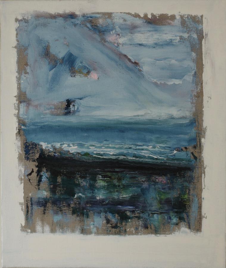 Eddie Kennedy:Invocation, 2018, oil on linen, 69 x 58 cm | Eddie Kennedy: Sing | Friday 26 October  – Saturday 24 November 2018 | Hillsboro Fine Art