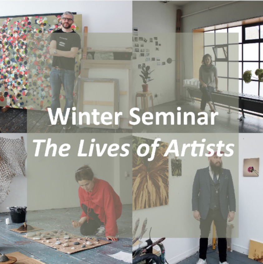 Winter Seminar: The Lives of Artists | Friday 16 November  – Saturday 17 November 2018 |