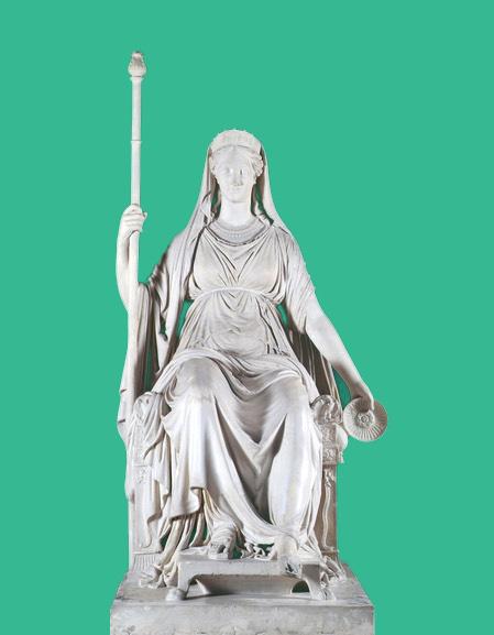 Antonio Canova,The Goddess Concordia Represented in the Likeness of Empress Maria Louisa, c.1816, plaster cast. Image © Crawford Art Gallery, Cork | Recasting Canova | from Saturday 16 February  | Crawford Art Gallery
