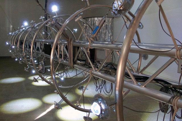 Andrew Kearney: Mechanism, 2017; Installation: Centre Cultural Irelandais, Paris; © Andrew Kearney | Andrew Kearney: Mechanism | Friday 15 March  – Sunday 26 May 2019 | Crawford Art Gallery