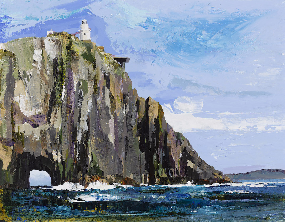 Geraldine O'Sullivan, The Bull Rock Lighthouse | Geraldine O'Sullivan: Light Keepers | Saturday 9 March  – Wednesday 10 April 2019 | Uillinn: West Cork Arts Centre