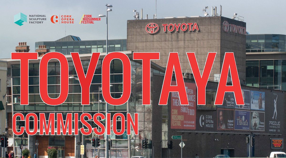 TOYOTAYA Commission: Open Call | Closing Date for submissions: 