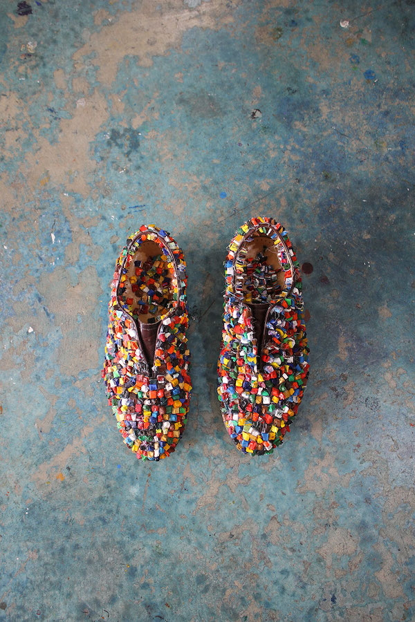 Declan Byrne, Shoes, 2016, Engage project | Together Now: The Engagement Project | Saturday 15 June  – Wednesday 21 August 2019 | Uillinn: West Cork Arts Centre