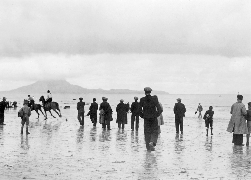 Helen Hooker O'Malley: Carrowmore Races, Co. Mayo, 1938 | A Modern Eye: Helen Hooker O'Malley's Ireland | Friday 21 June  – Sunday 1 September 2019 | Gallery of Photography
