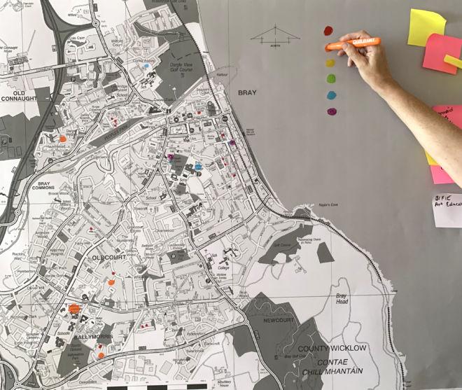 Eleanor Philips & Emma Finucane: Bureau for Creative Communities | Thursday 18 July  – Saturday 17 August 2019 | Mermaid Arts Centre