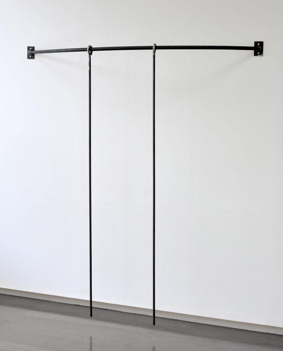 Aleana Egan, Outside material, 2011, metal, softwrapped, 157 x 148 x 31 cm / 61.8 x 58.3 x 12.2 in | Shadowplay | Friday 12 July  – Wednesday 28 August 2019 | Kerlin Gallery