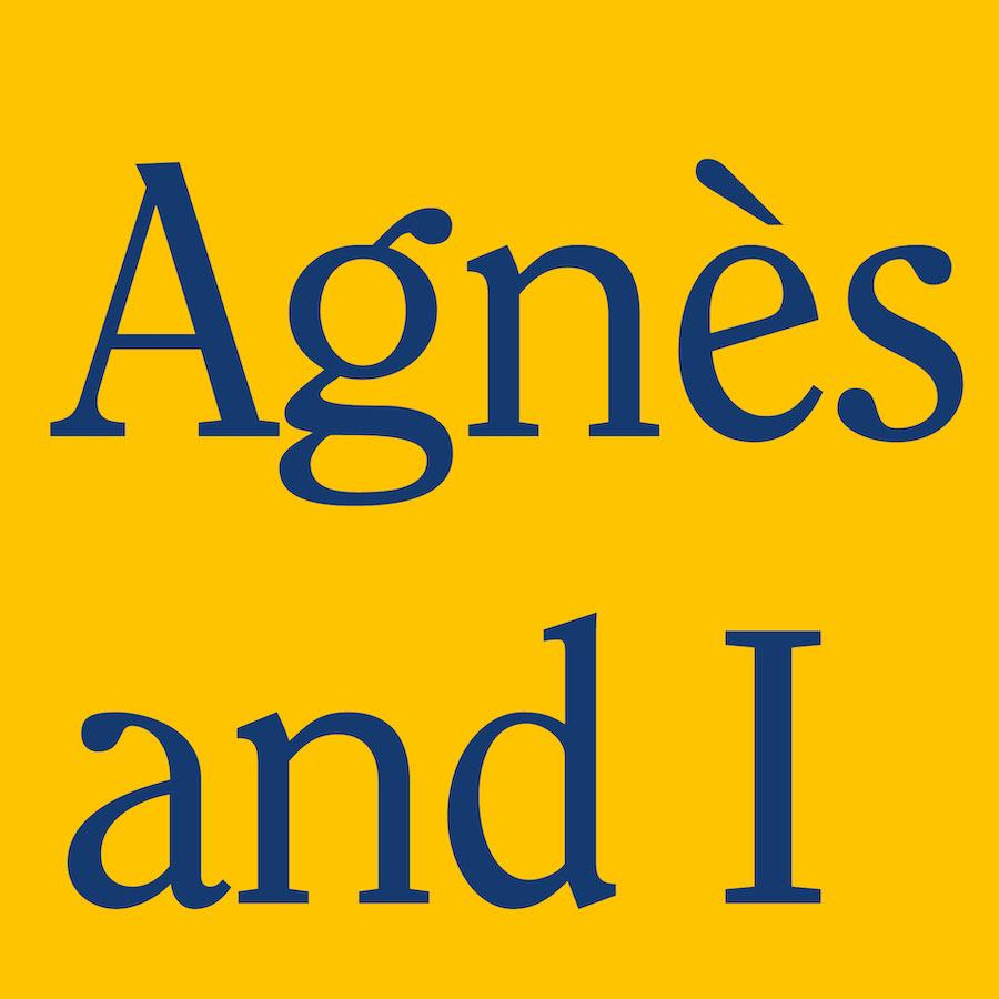 Agnès and I | Friday 6 September  – Saturday 28 September 2019 |