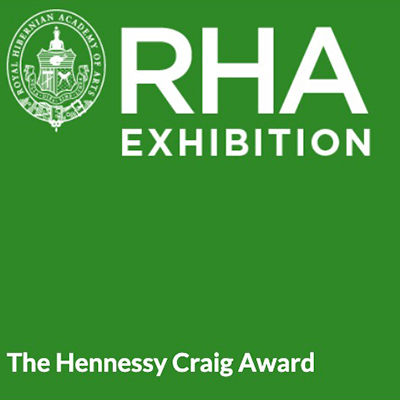 Melanie Stewart, née le Brocquy, at work | The Hennessy Craig Award | Friday 6 September  – Sunday 20 October 2019 | Royal Hibernian Academy