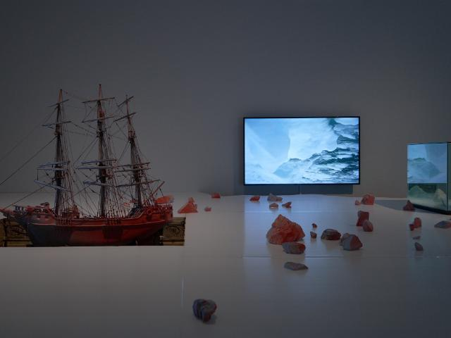 Mariele Neudecker, detail of installation | Mariele Neudecker: Sediment | Friday 6 September  – Sunday 17 November 2019 | Limerick City Gallery of Art