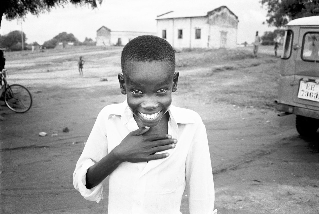 Pádraig Grant, The Smiling Boy, Juba, South Sudan, African Series. 1989 – 2005 | Pádraig Grant: The Actual | Monday 2 September  – Saturday 5 October 2019 | Wexford Arts Centre