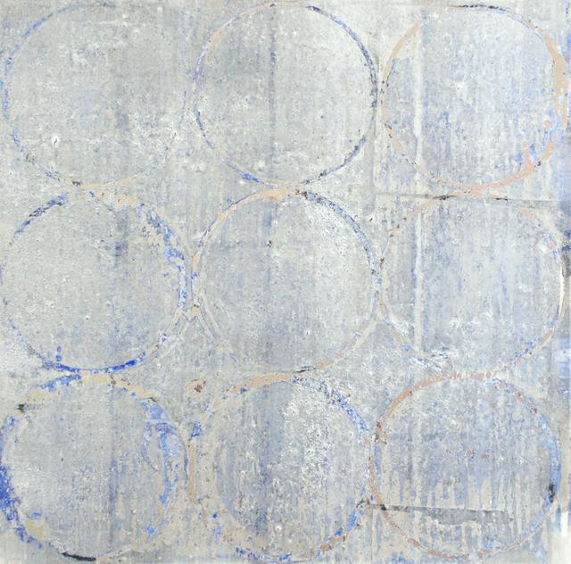 Makiko Nakamura, Ihatov - summer, 2019, pigments + metal leaf on Japanese paper, 41.5 x 44 cm | Makiko Nakamura: Love Songs | Friday 13 September  – Saturday 5 October 2019 | Taylor Galleries
