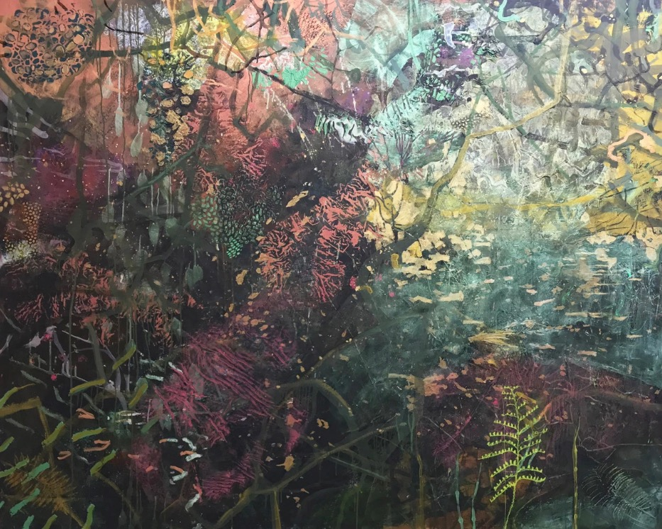 Frances Ryan: Sanctuary, 2019, oil on canvas, 120 x 150cm | Frances Ryan: Transience | Friday 4 October  – Saturday 26 October 2019 | Solomon Fine Art