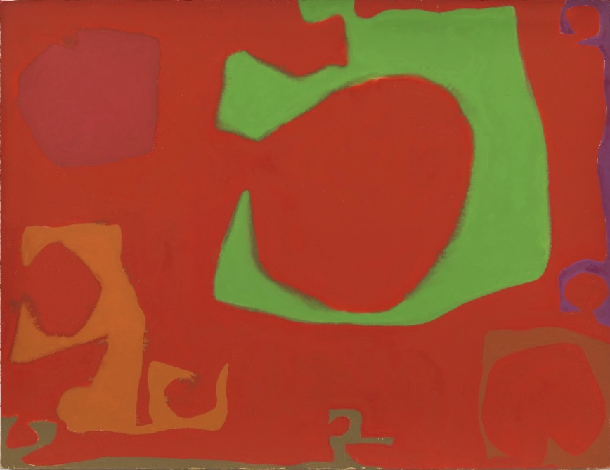 Patrick Heron: Number Three: August 1970, 1970, gouache on paper, 59 x 77.8cm | Collectibles | Friday 6 September  – Saturday 28 September 2019 | Solomon Fine Art