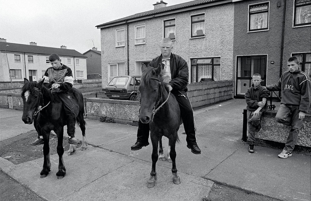Riders, from the series LOCAL © Pete Smyth | Pete Smyth: Local | Saturday 16 November 2019  – Wednesday 15 January 2020 | Gallery of Photography