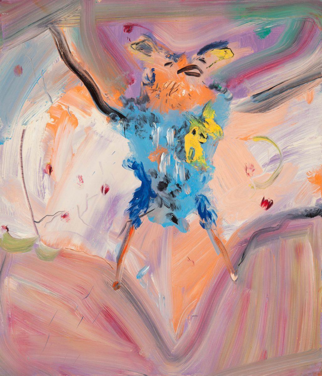 Aileen Murphy,Pipistrelle, 2013, oil on board, 35 x 30 cm; courtesy the artist and Kevin Kavanagh Gallery, Dublin | Vision X | Friday 22 November 2019  – Sunday 26 January 2020 | Royal Hibernian Academy
