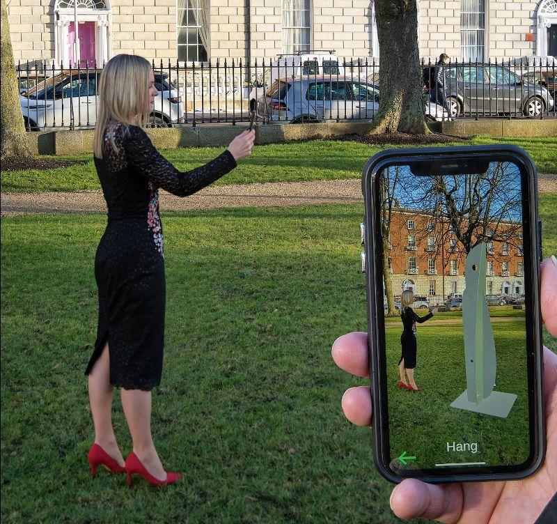 Eilis O'Connell RHA:Six Works – Augumented Reality | Thursday 27 February  – Monday 31 August 2020 | Royal Hibernian Academy