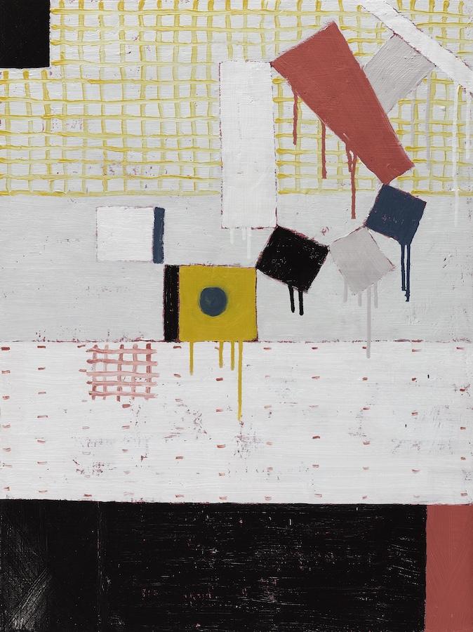 John Noel Smith:Multipolar VII, 2019, oil on board, 80 x 60 cm | John Noel Smith:Multipolar | Thursday 6 February  – Saturday 7 March 2020 | Hillsboro Fine Art