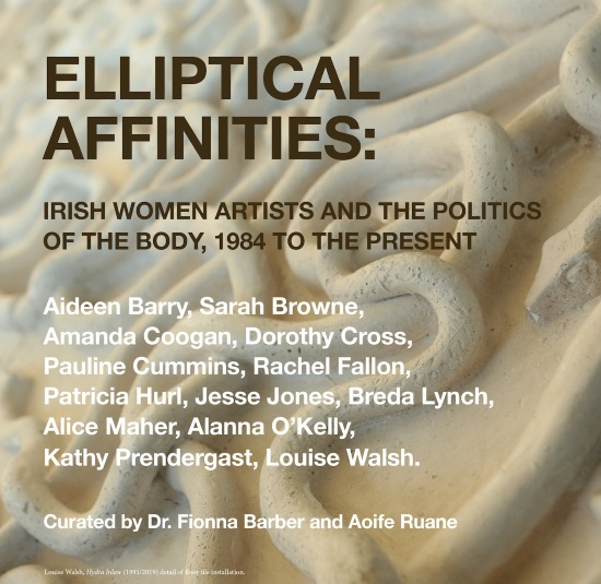 Elliptical Affinities: Irish Women Artists and the Politics of the Body, 1984 to the Present | Friday 7 February  – Sunday 22 March 2020 | Limerick City Gallery